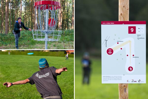 Disc Golf Parcours Josefhof