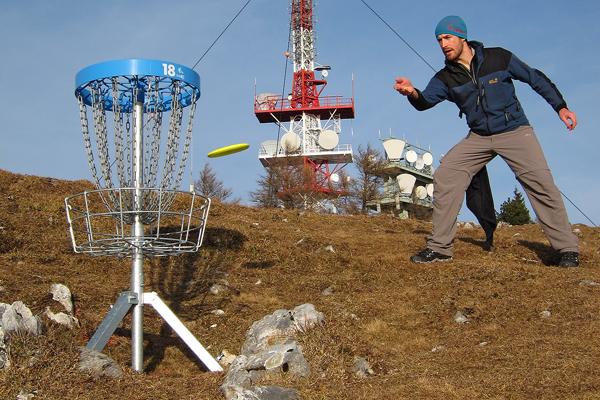 Disc Golf Parcours Schöckl